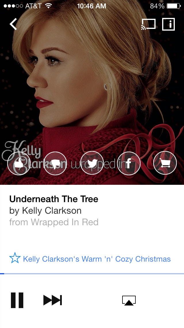 Songza Partners With Popstar Kelly Clarkson